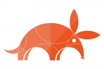 Illustration d'Ubuntu 17.10 Artful Aardvark